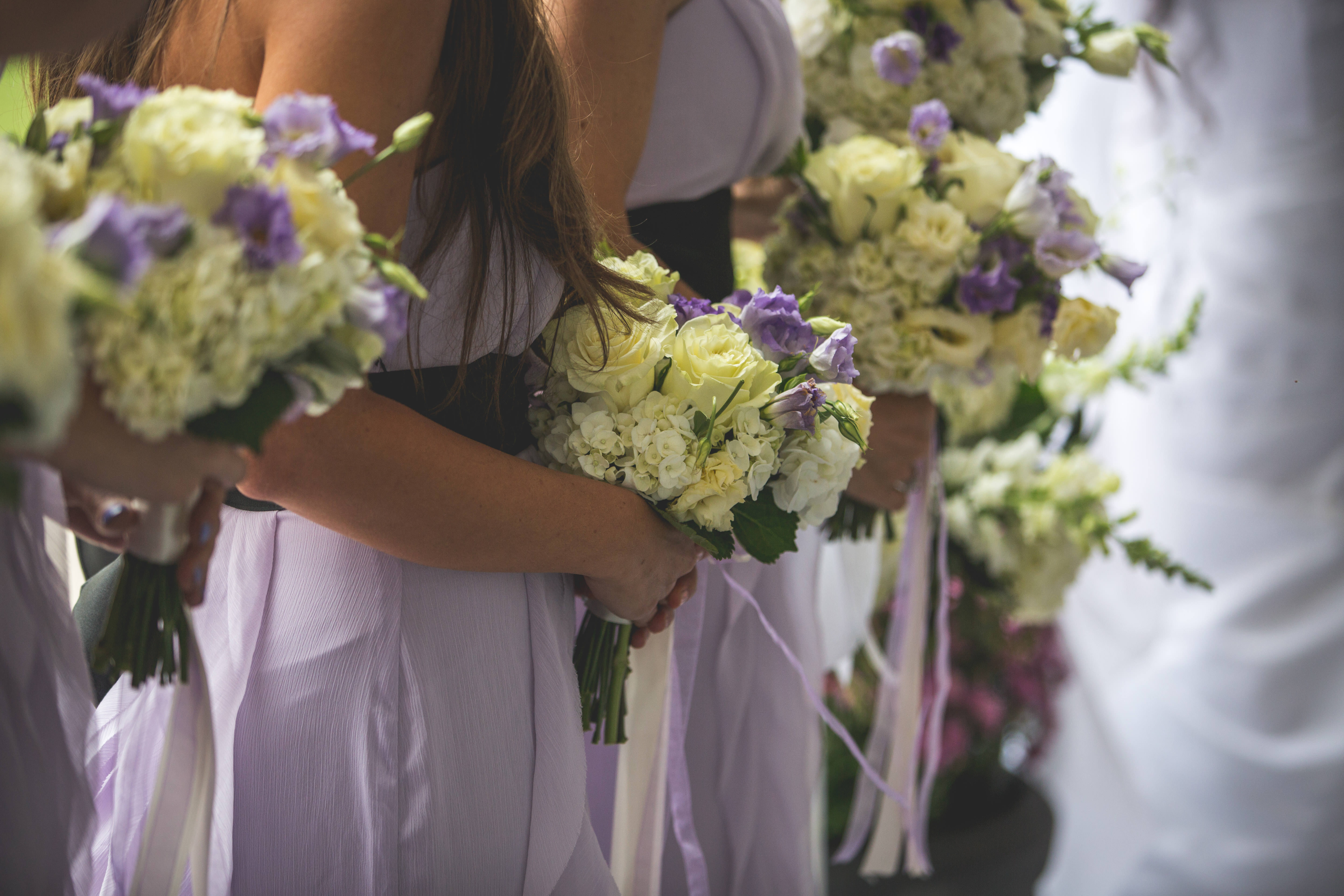 Aspen Florist Bridesmaid Bouquets