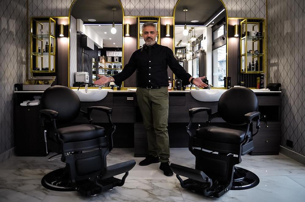 Fabio Costanzo CEO e Founder delle Barberie Opera74