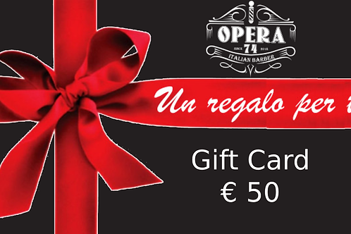 Gift Card 50€ Opera74