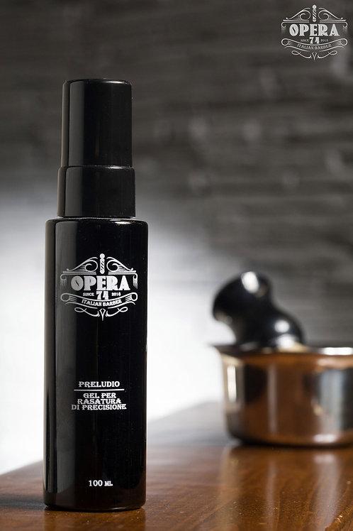 PRELUDIO - Gel trasparente per la rasatura di precisione della barba 100ml