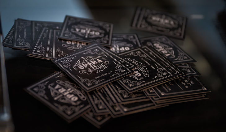 Biglietti visita Opera74 Business cards