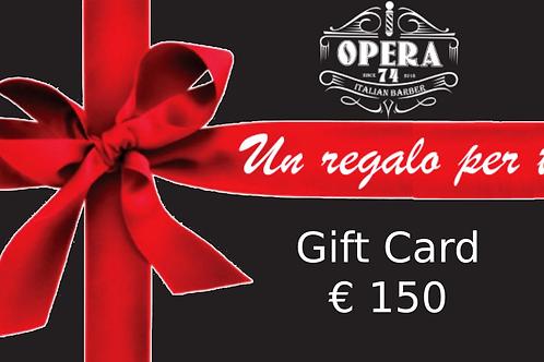 Gift Card 150€ Opera74