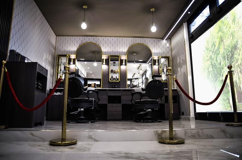 Nuova barberia Opera74, le postazioni