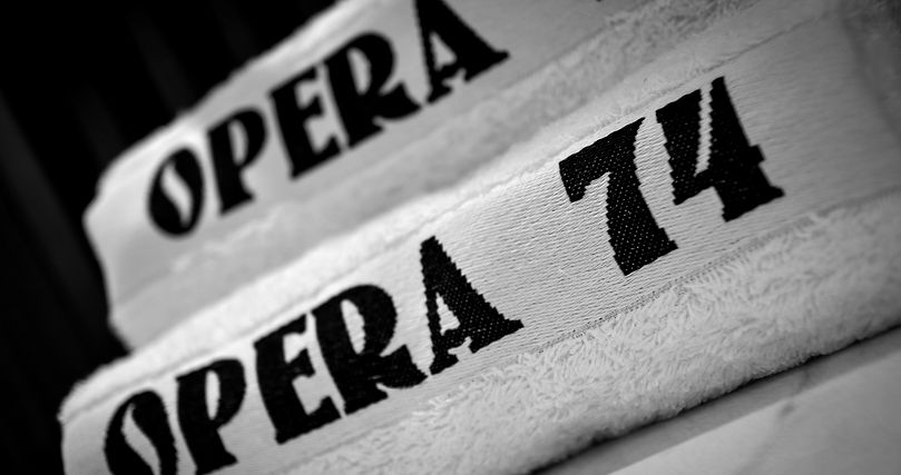 Dettaglio Spugne usate nei saloni Opera74