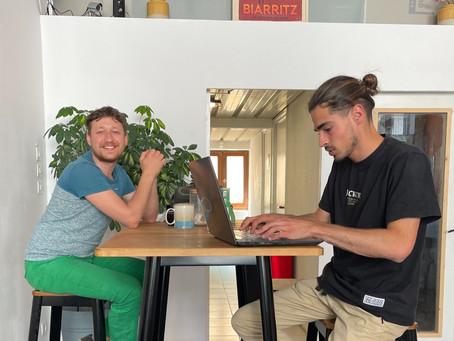 Kostia, ingénieur d'affaires, choisit notre espace de coworking