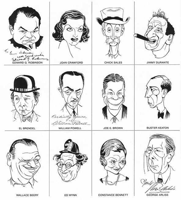 Caricatures with autographs.jpg