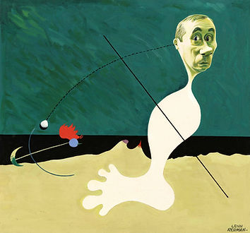 7 Artistic Caricature of Joan Miro by Le