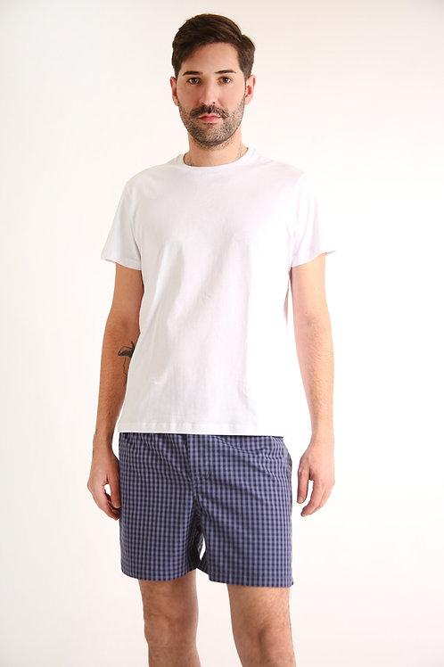 Pijama masculino Short Azul Vichy Anotheroom