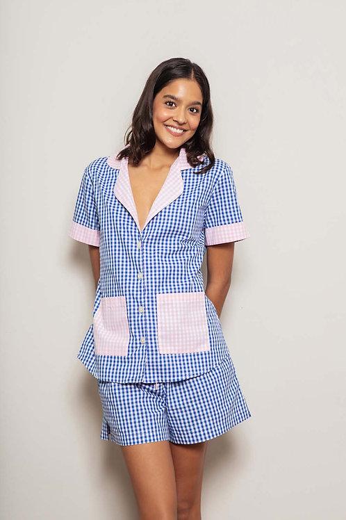 Pijama curto Vichy Duo Anotheroom