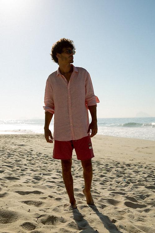 Camisa linho manga longa Maxime