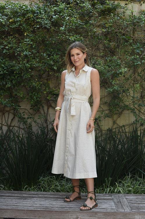Vestido Selena tapioca Sissa