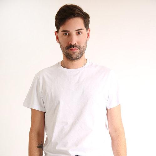 Camiseta Branca Pijama masculino Vichy Anotheroom