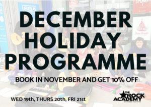 December school holiday programmes Wellington