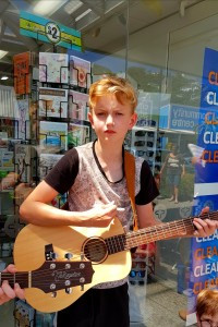 Singer songwriter develops during school holiday programme in Wellington