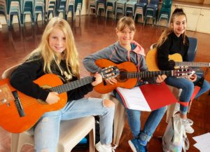 Music for the school holidays