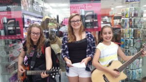Singing Lessons – Pupils Busking Trip