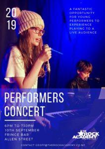 Performers concert – September 2019