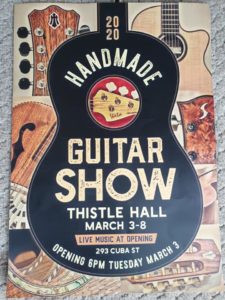 Wellington Guitar Luthiers @ Thistle Hall