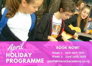 April Holiday Programme Wellington 2019