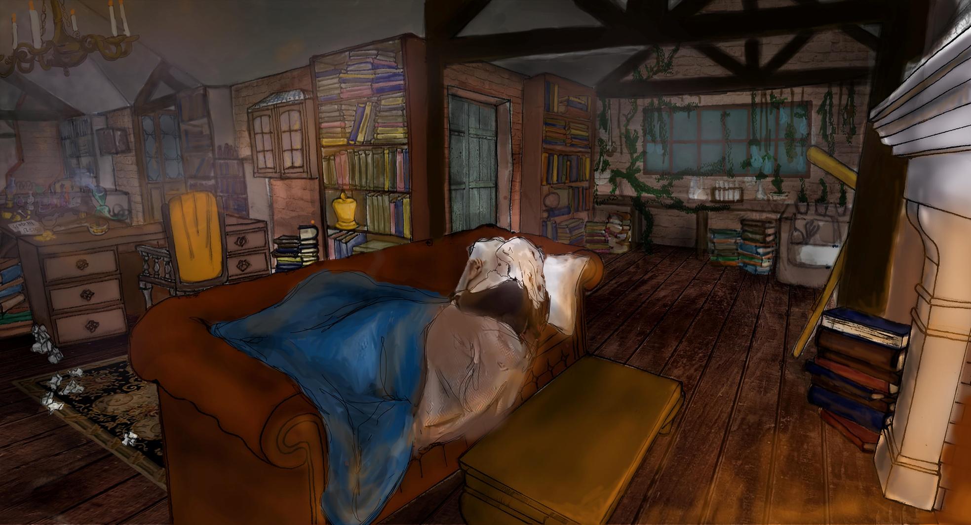 interior visual of alchemists and men