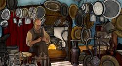 tinsmiths interior ink and bone