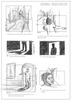 storyboards ink and bone