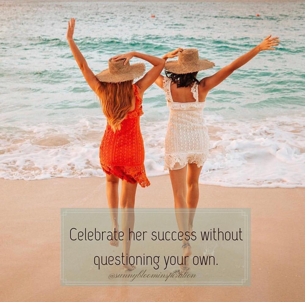 teen celebrating success