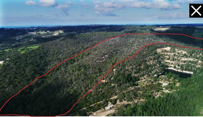 Proposed quarry site