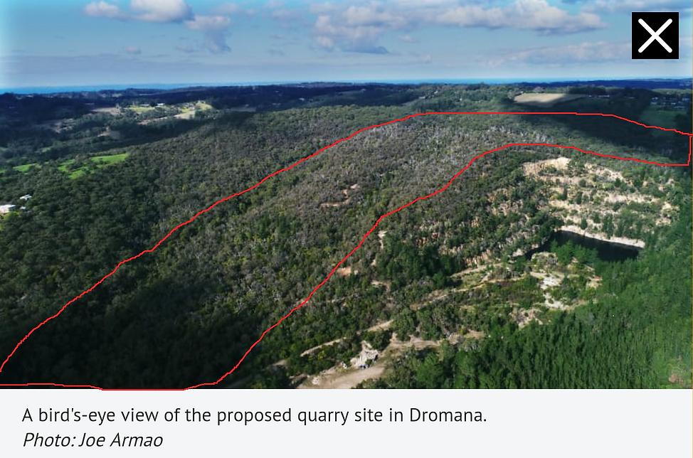 Proposed quarry Arthurs Seat