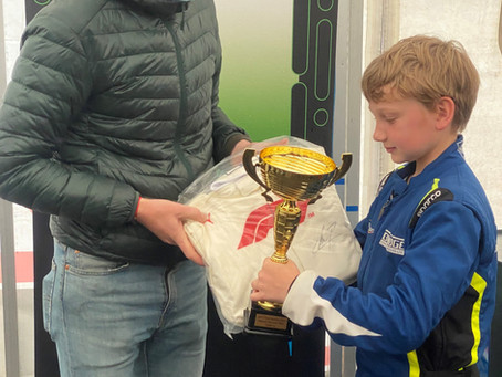 Ready, Set, Go! Wesley's success in karting championships