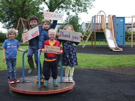 Village community's mission to improve local playground