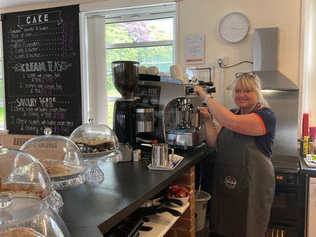 Welcome to Cafe Avodah - the Gateway Centre's upgraded cafe and 'safe space'