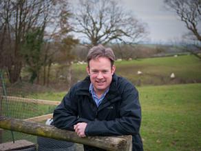 Meet Adam Paynter - councillor, farmer, friend to many