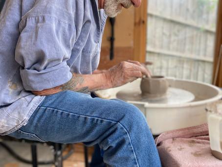 Meet Potter Ben: Creator of stunning clay pots