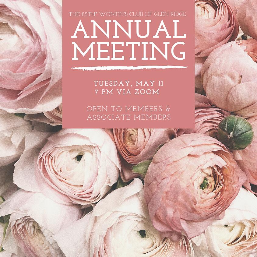115th* Annual Meeting