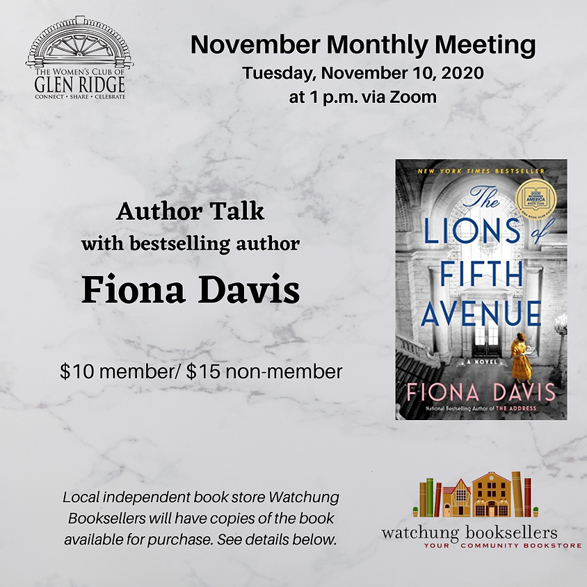 November Monthly Meeting