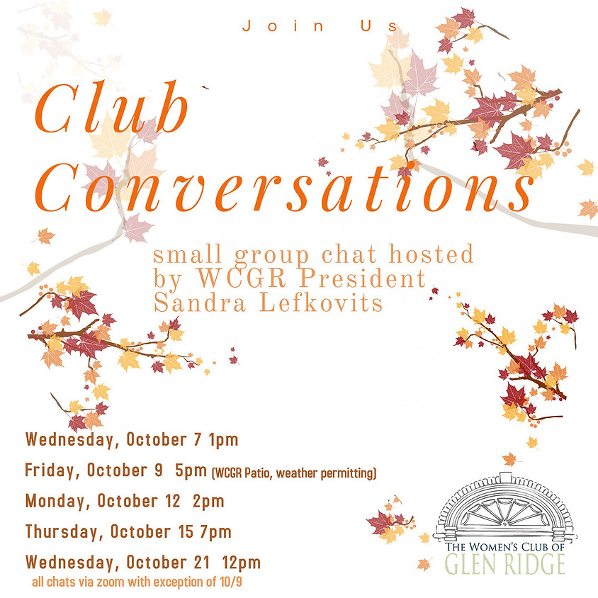 Club Conversations
