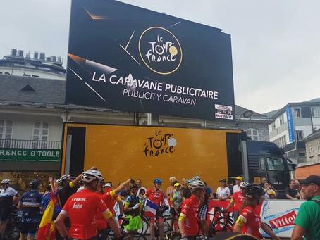 Waterloo Eye Centre takes eyewear to the Tour de France, Lourdes.