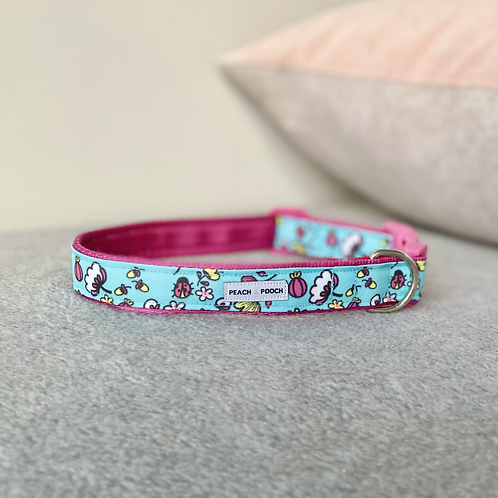 Fresh and Floral Dog Collar