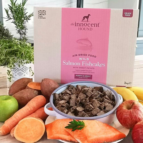 Innocent Hound Air - Dried Wild Salmon Fishcakes 3kg