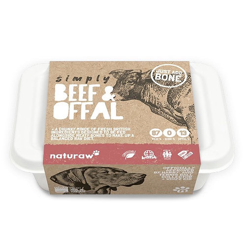 Naturaw Simply Beef & Offal 500g
