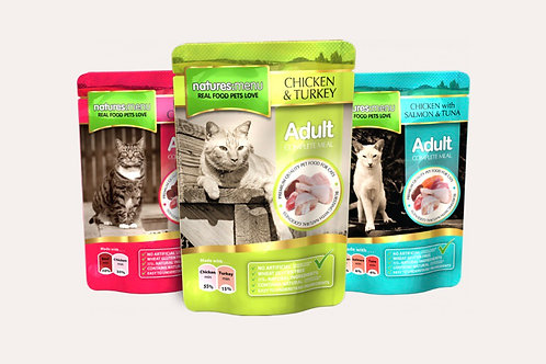 Natures Menu Cat Pouches Multipack