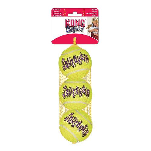 Kong Squeaker Tennis Balls (pack of 3)