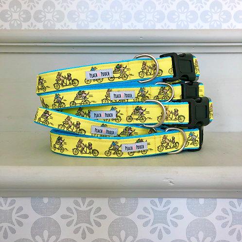 Tour de Yorkshire Dog Collar