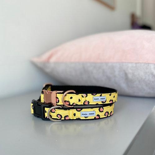 Leopard Bling Dog Collar