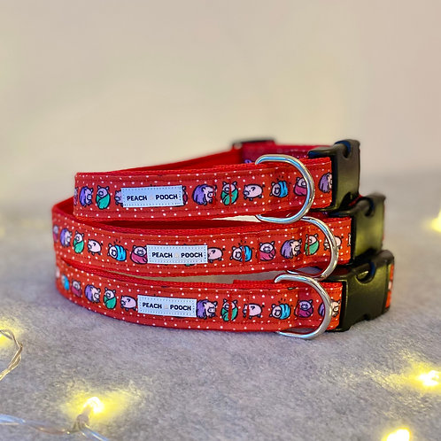 Pigs in Blanket Dog Collar