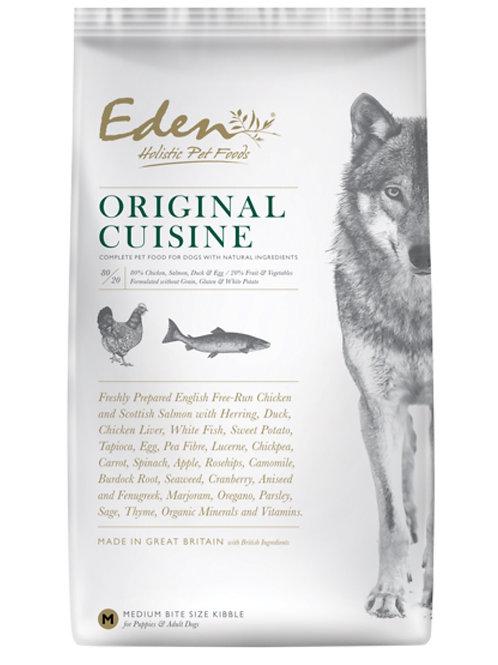 Eden 80/20  Dog Original Cuisine 12kg