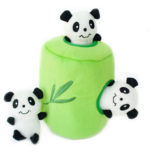 Zippypaws Panda In Bamboo Burrow