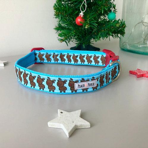 Reindeer Rave Dog Collar