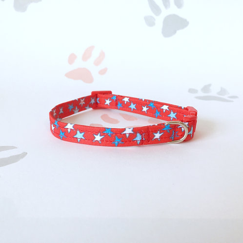 Starry Eyed Cat Collar
